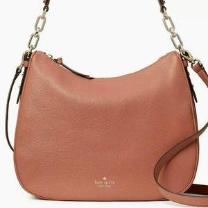 Kate Spade Mulberry Vivian Brown Leather Hobo Bag